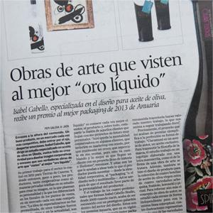 Publicación en Diario Jaén – 18-5-2013