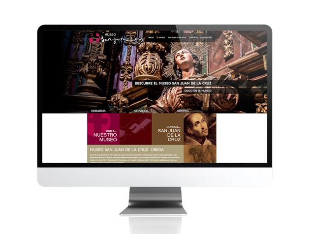 Web de promoción turística para el Museo San Juan de la Cruz