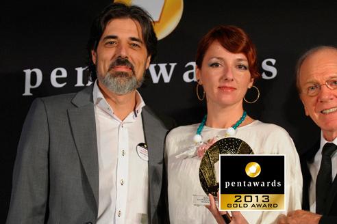Pentawards 2013 – Gold pentaward – Luxury Gormet Food