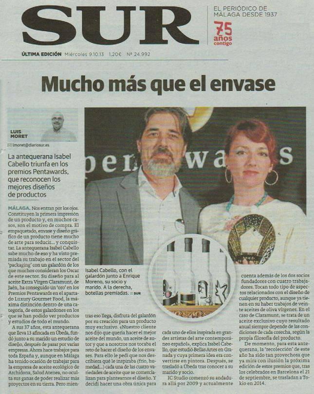 Diario Sur de Málaga – 9 -10 – 13