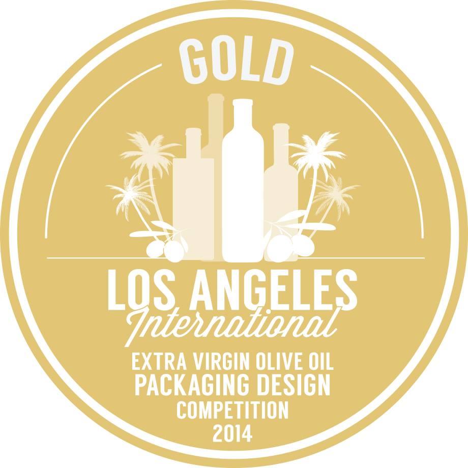 Medalla de ORO en LOS ÁNGELES INTERNACIONAL por el PACKAGING Hoja del Olivo