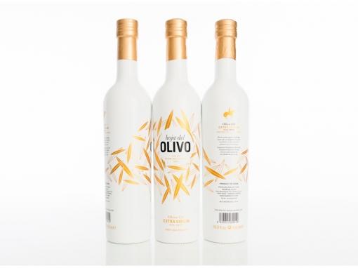 Hoja del Olivo, extra virgin olive oil. Diseño de producto Gourmet