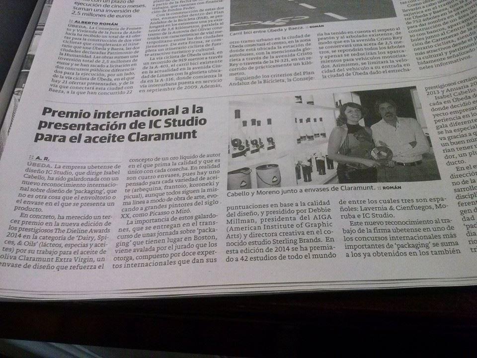 Publicación Ideal Jaén 18-05-2014