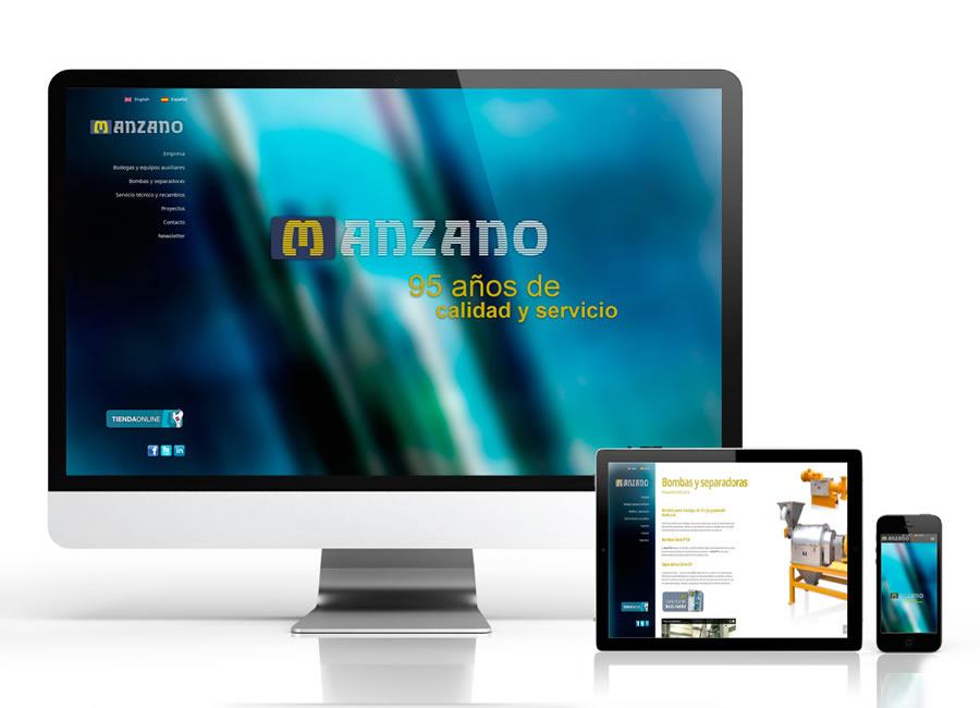 Nuevo diseño para la web de Calderería Manzano