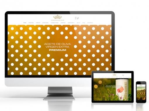 Diseño de nueva web Nobleza del Sur