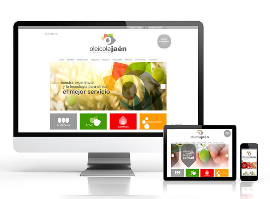 Diseño web para Oleicola Jaén