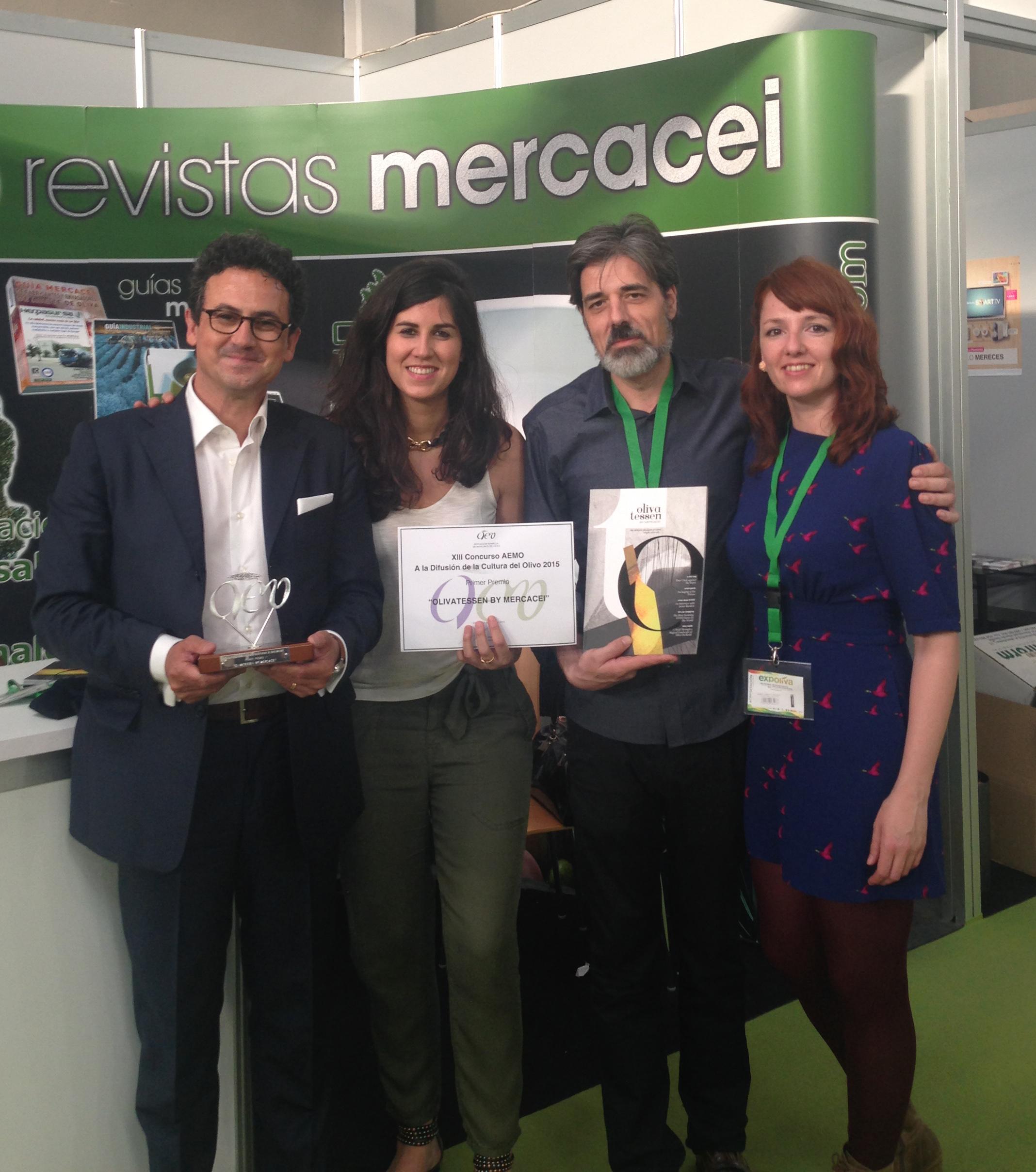 Olivatessen – Premio AEMO a la difusión de la cultura del olivo 2015