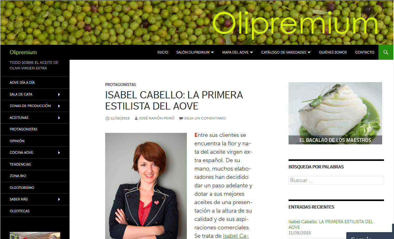 Publicación en OLIPREMIUM