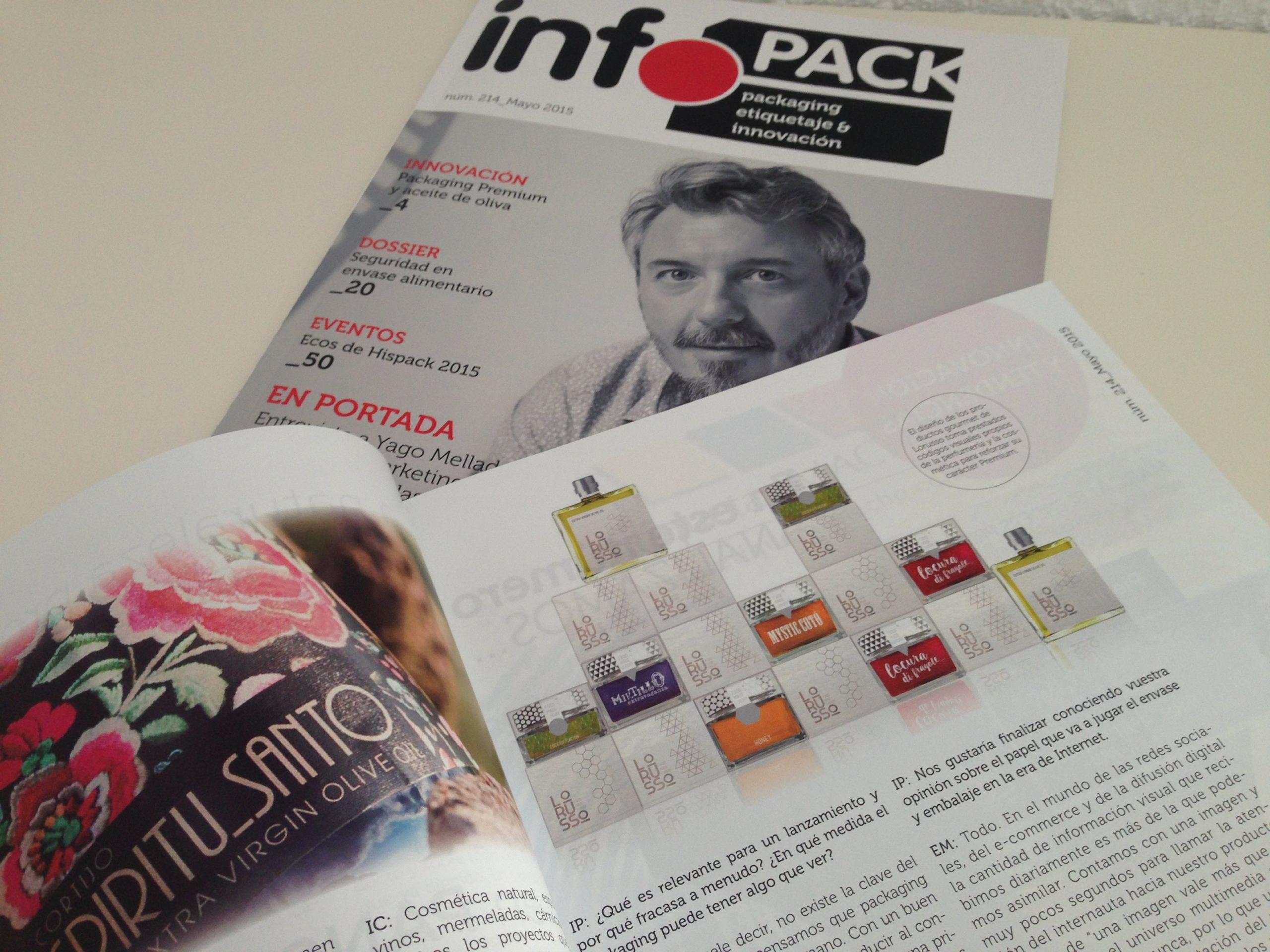 Artículo en Infopack Mayo 2015