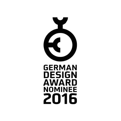 Recibimos 2 nominaciones a los German Design Awards 2016