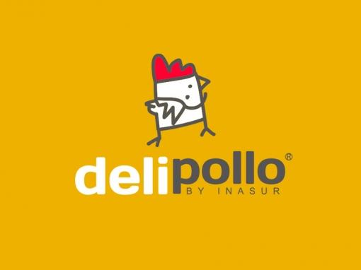 Delipollo, marca gráfica para producto.