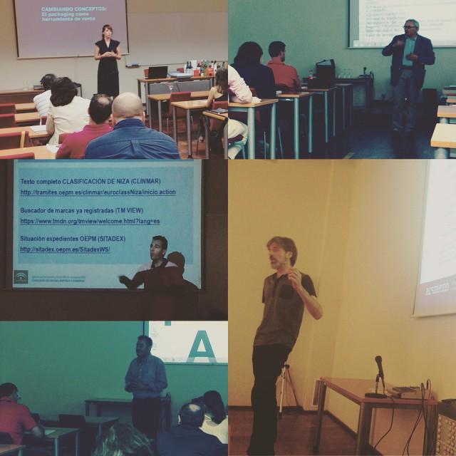 Finalizado el 2 curso de marca en el AOVE en la Universidad Internacional de Andalucía