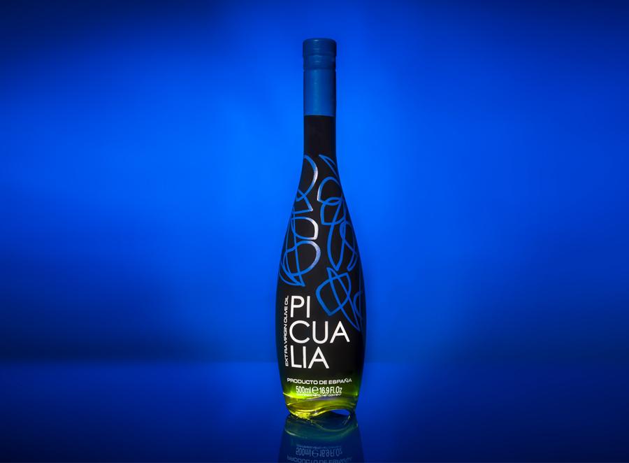 Picualia. Diseño de envases para aceite de oliva virgen extra