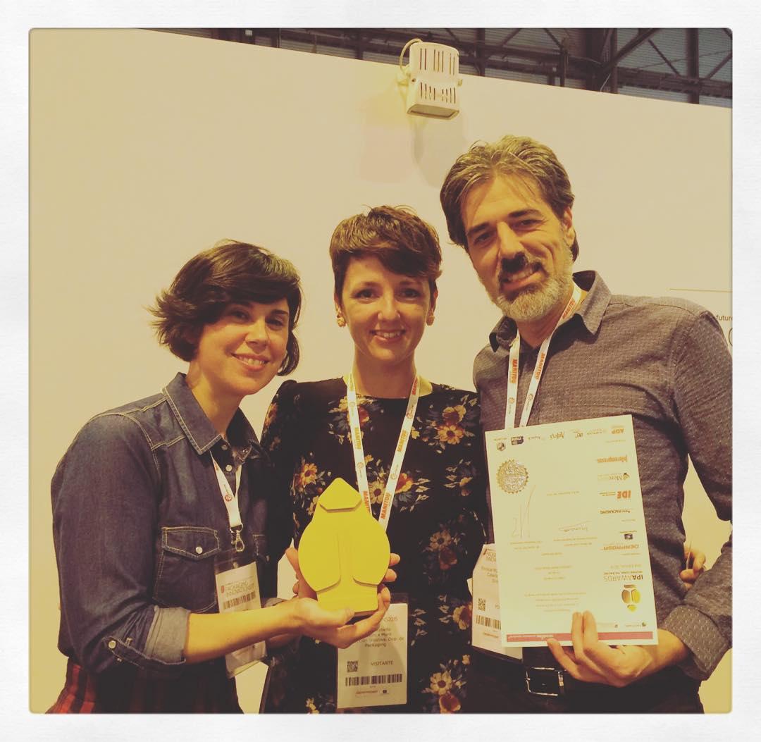IPA awards de oro para Lorusso Heart Made Food