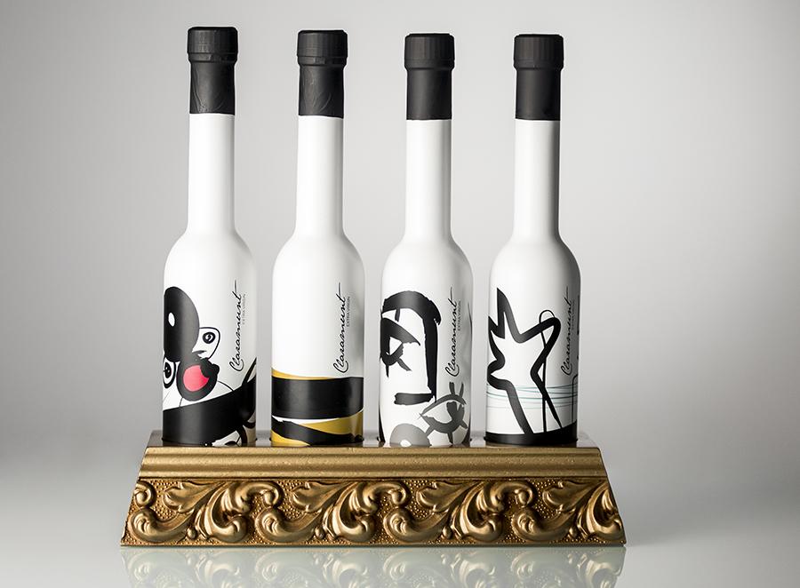 Diseño de producto Claramunt Collection. Aceite de oliva virgen extra