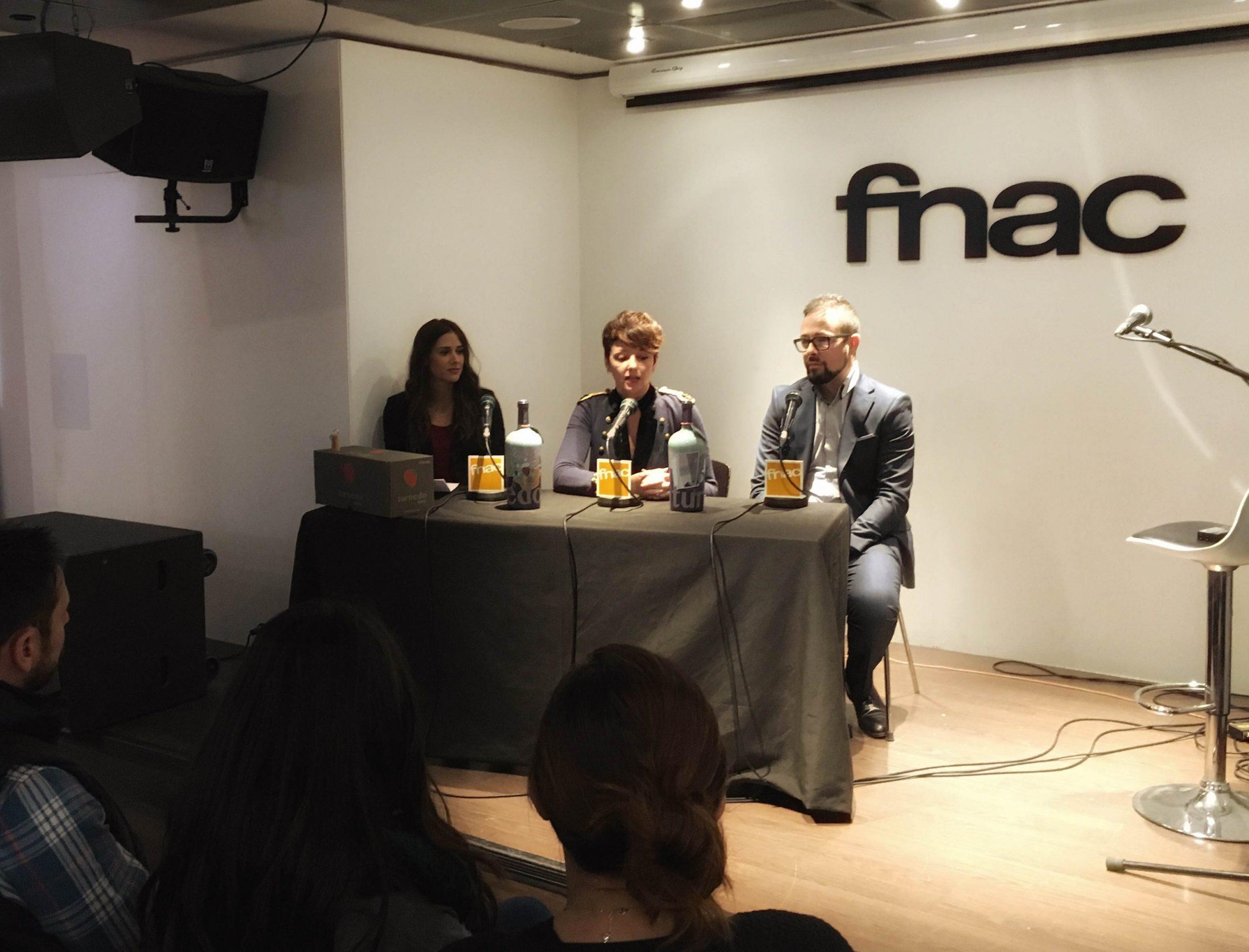 Presentación de TURNEDO WINE en Fnac Valencia