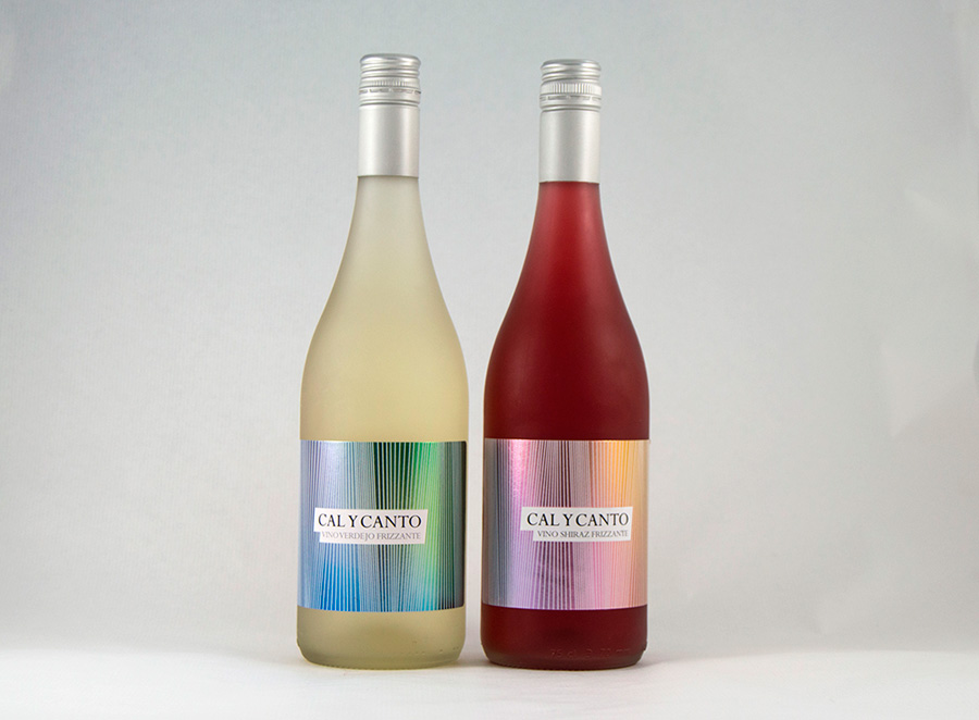Diseño de etiquetas para vinos Cal y Canto