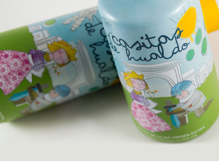 CASITAS DE HUALDO, diseño de packaging