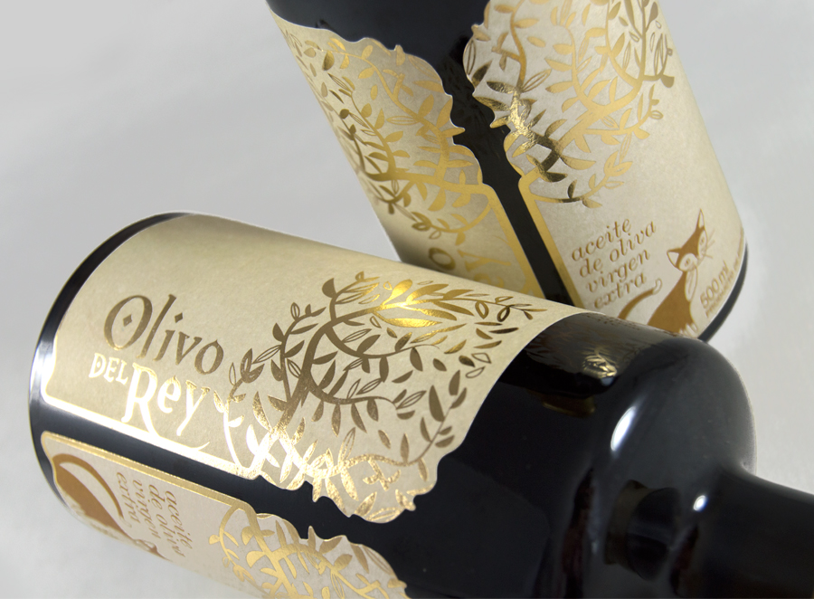Packaging para Olivo del Rey