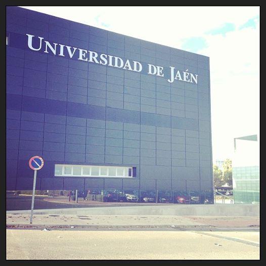 Charla en el Aula Magna de la Universidad de Jaén