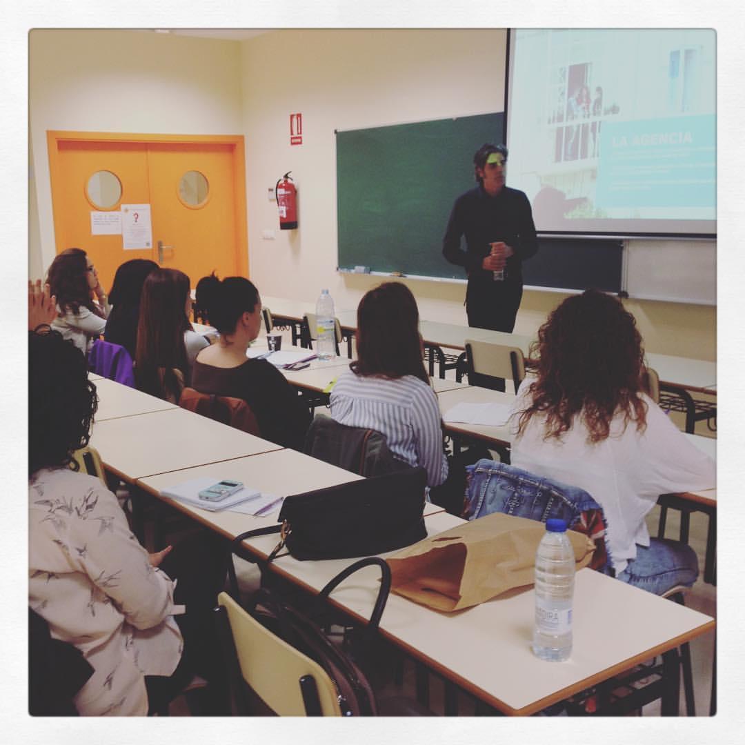 Master class en la Universidad de Jaén
