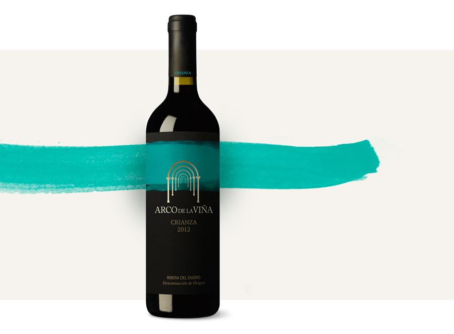 Arco de la Viña, packaging para vino de Ribera del Duero y Rueda