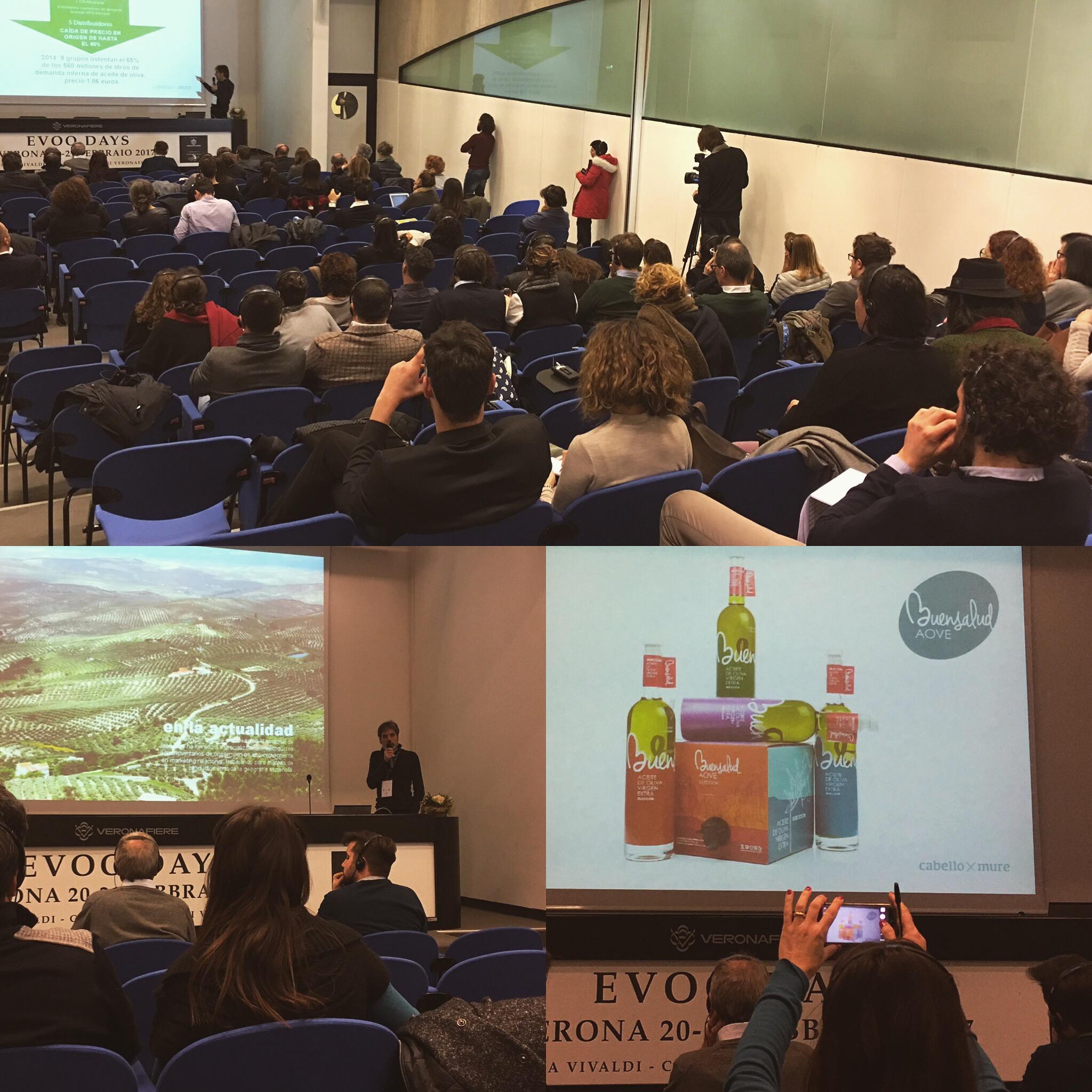 Participamos en Verona como ponentes en el Evoo Days organizado por Sol&Agrifood
