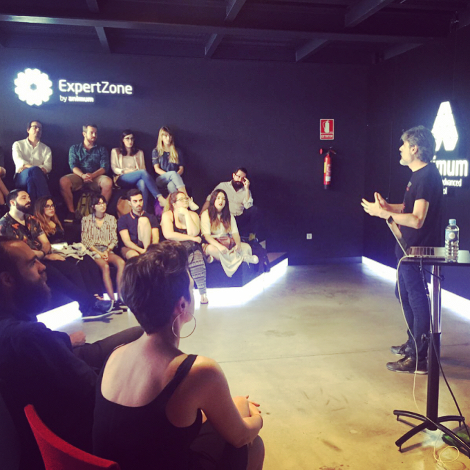 Master Class en la escuela de diseño Animum de Málaga