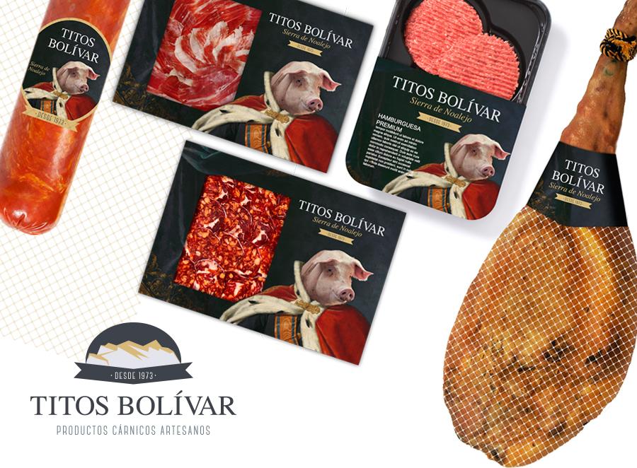 Diseño para Titos Bolivar