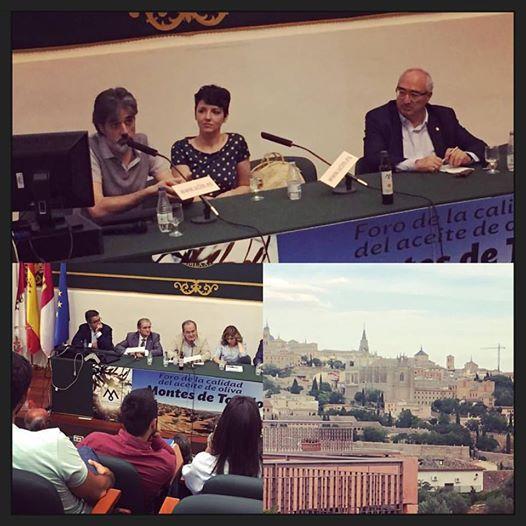 Participamos en Toledo en el I Foro por la calidad en el aceite de Oliva