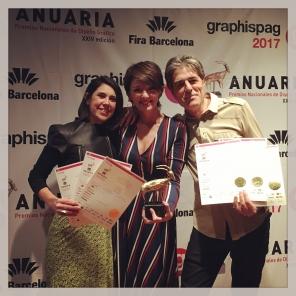"""""""Anuaria de Oro"""" y 5 premios """"selección Anuaria"""" en la edición 2017"""