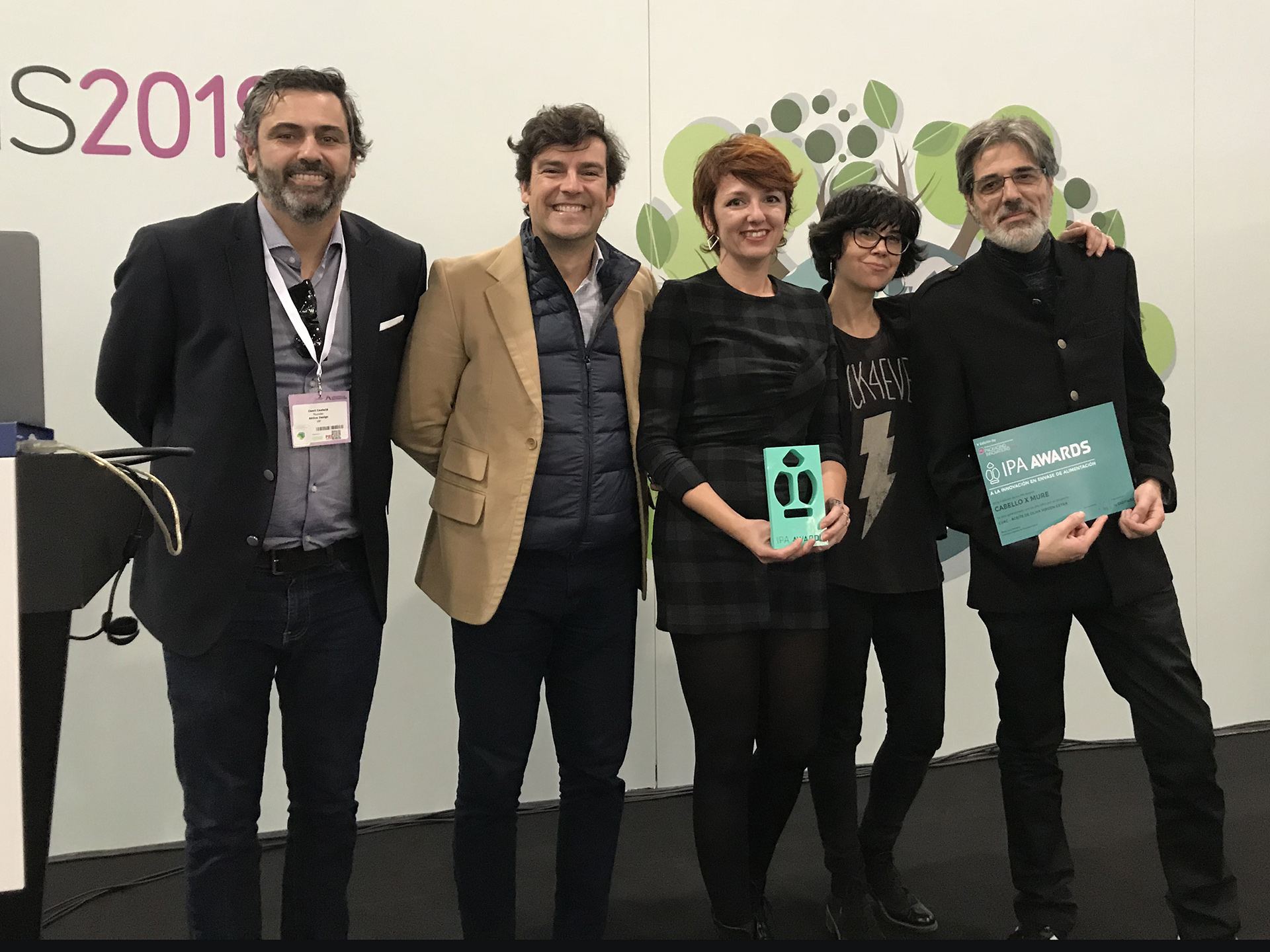 Recibimos 2 nuevos premios en los IPA awards 2018