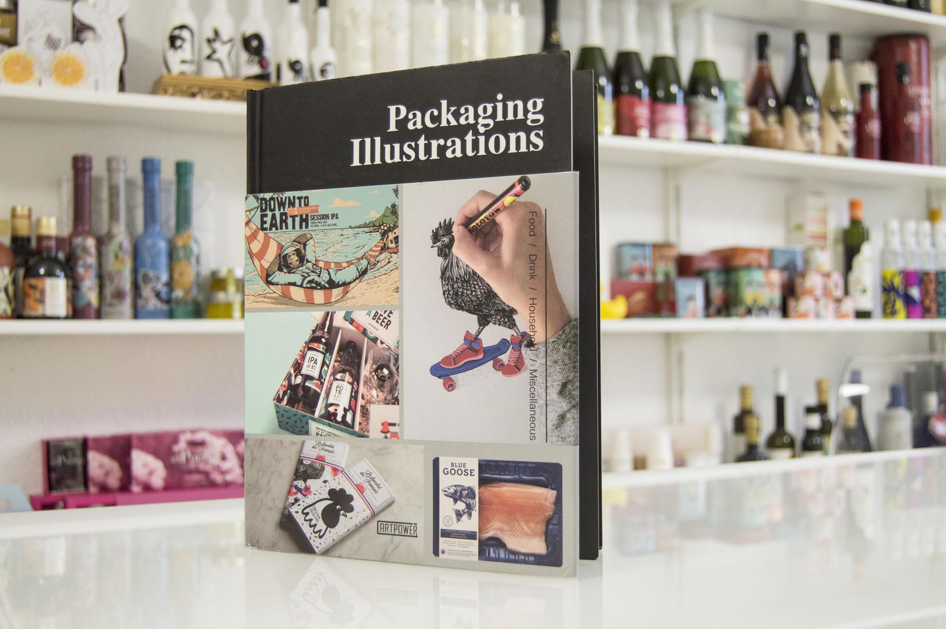 """""""Packaging Illustrations"""", un magnifico libro en el que tenemos la suerte de estar con 2 trabajos"""
