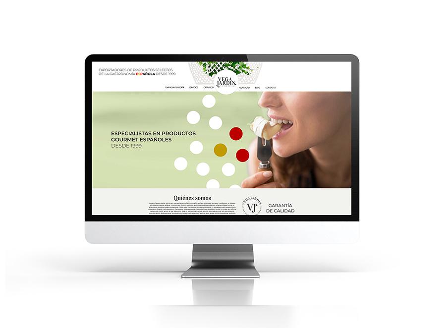 Vegajardín -diseño web