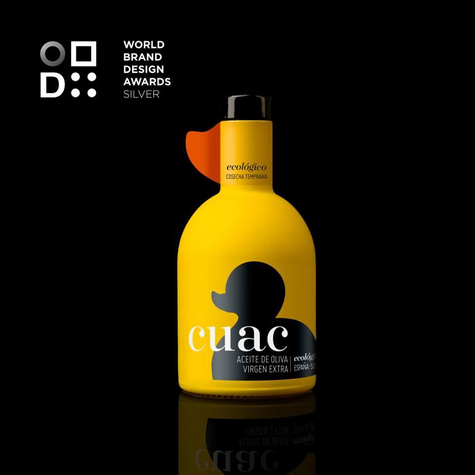 """""""SILVER AWARDS"""" para CUAC en los WORLD BRAND DESIGN 2018"""