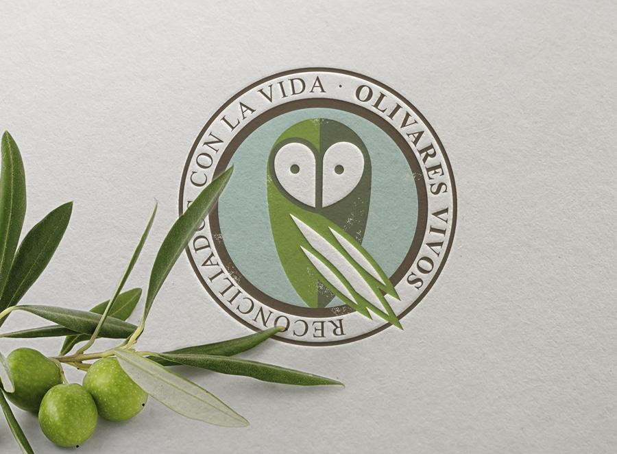 Diseño para la marca de garantía -Olivares Vivos –