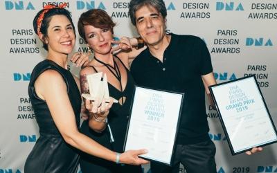 """Recibimos el """"Grand Prix"""" en los DNA PARIS 2019"""