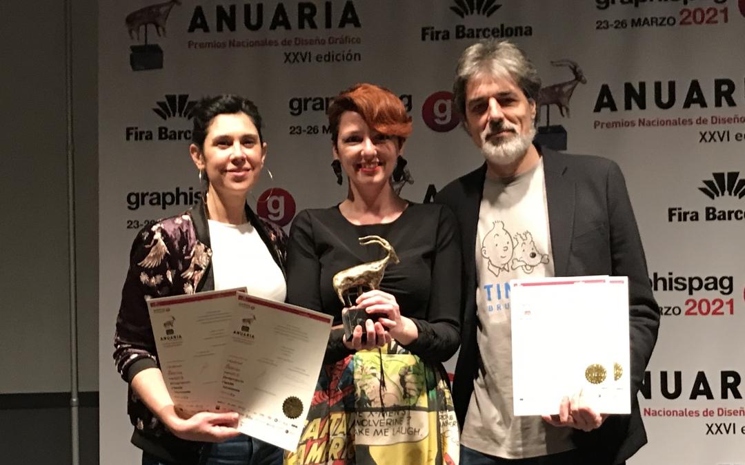Recibimos en Barcelona 4 nuevos premios ANUARIA