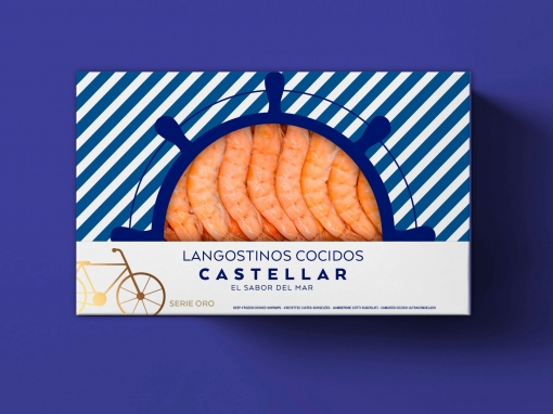 Diseño packaging – Mariscos Castellar