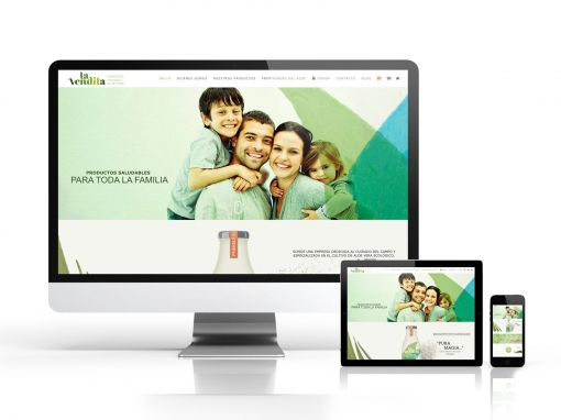 Diseño web para «La Vendita»