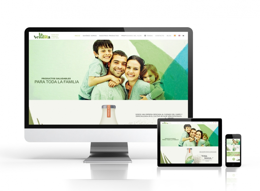 "Diseño web para ""La Vendita"""