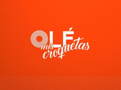 Diseño de marca OLÉ MIS CROQUETAS