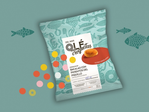 OLÉ MIS CROQUETAS – Packaging