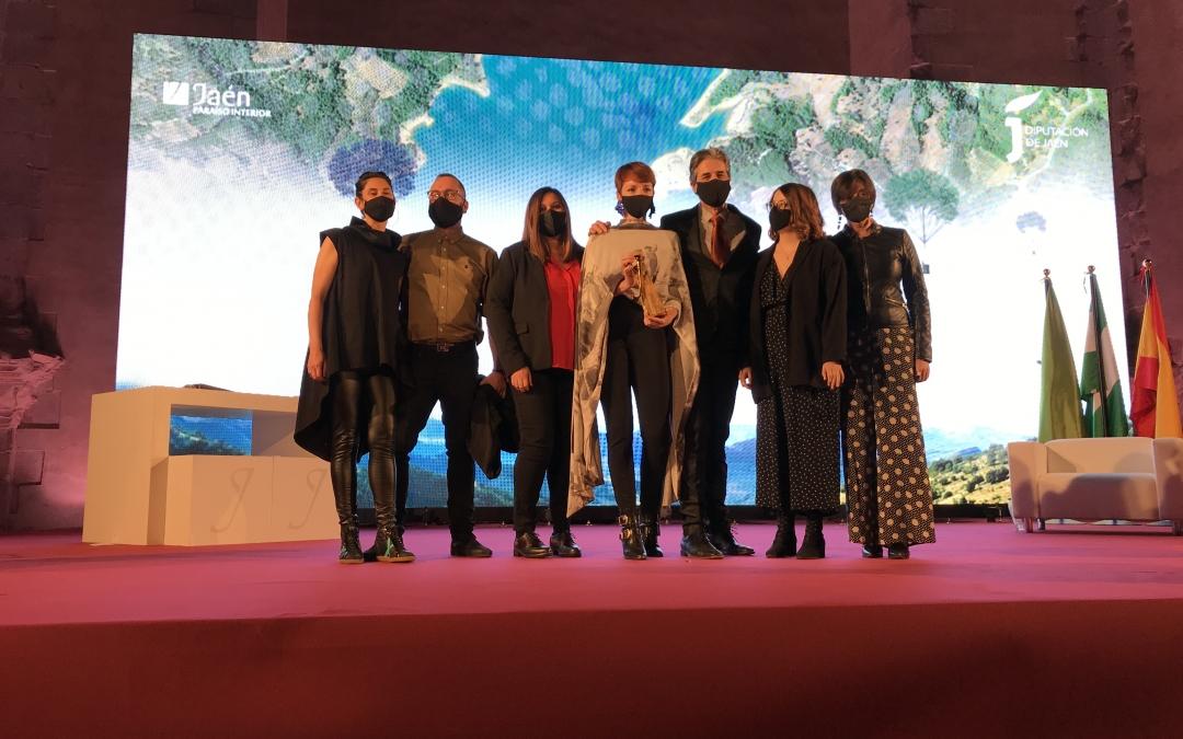Cabello x Mure galardonada con el premio Jaén Paraíso Interior 2020